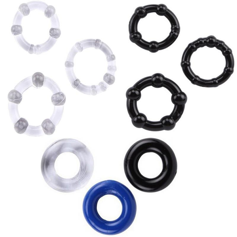 3 Stück pro Packung Mit Perlenverschluss, feinem Ring, Penisverzögerung, Kristallring, Gewürzring, drei Ringen, Ausrüstung für Erwachsene