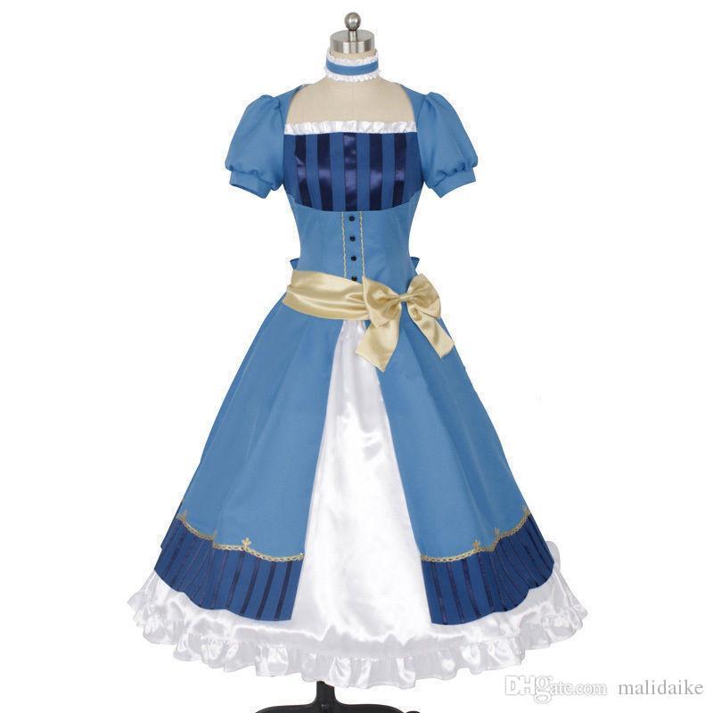Anime Black Butler Book of the Atlantic Elizabeth Dress cosplay costume