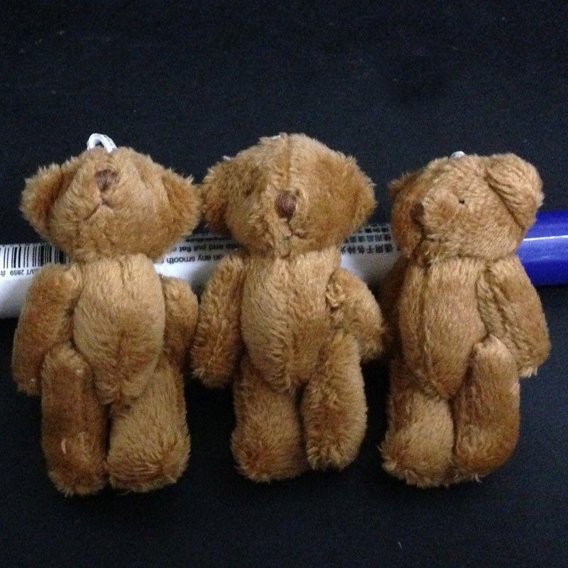 6CM long wool teddy bear 7