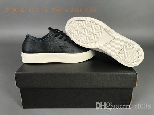 أحذية ذات جودة عالية عارضة النساء والرجال الأحذية الجلدية سميكة شقة المطاط وحيد الراحة يرتدي أعلى جلد قوي أعلى أو أدنى نفس الأسعار
