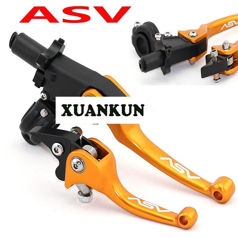 Большие внедорожники, ASV складной анти-падение ручка / ЧПУ мотоцикл Рог аксессуары модифицированные части влево и вправо
