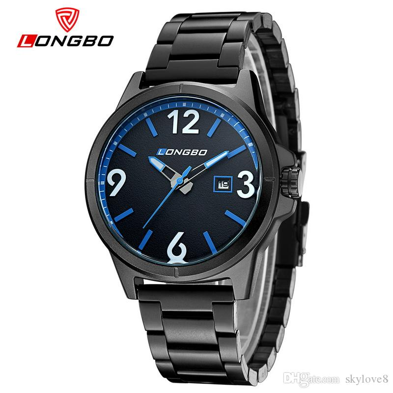 skylove8 I negozi di marca LONGBO orologio da uomo sportivo da uomo di lusso per il tempo libero di lusso da uomo guarda gli studenti