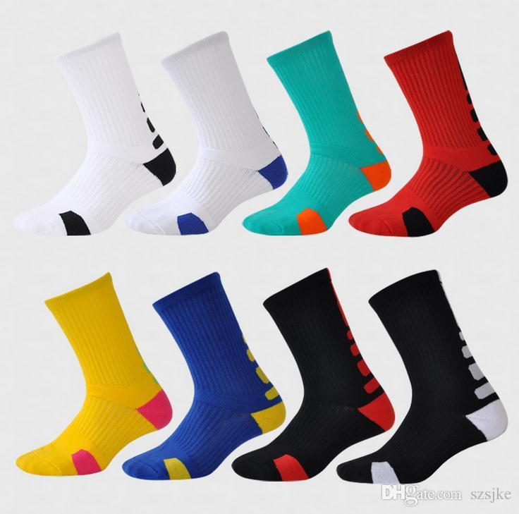 Short tube football socks professional basketball men sports socks Unisex Professional Running Quick Dry Absorb Sweat Socks