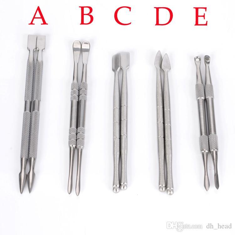 농축 오일 왁스 도구 Dabber 선택 vax atomizer 스테인레스 스틸 dab 공구 티타늄 못 dabber 도구 건조 허브 증발기 펜 dabber 도구
