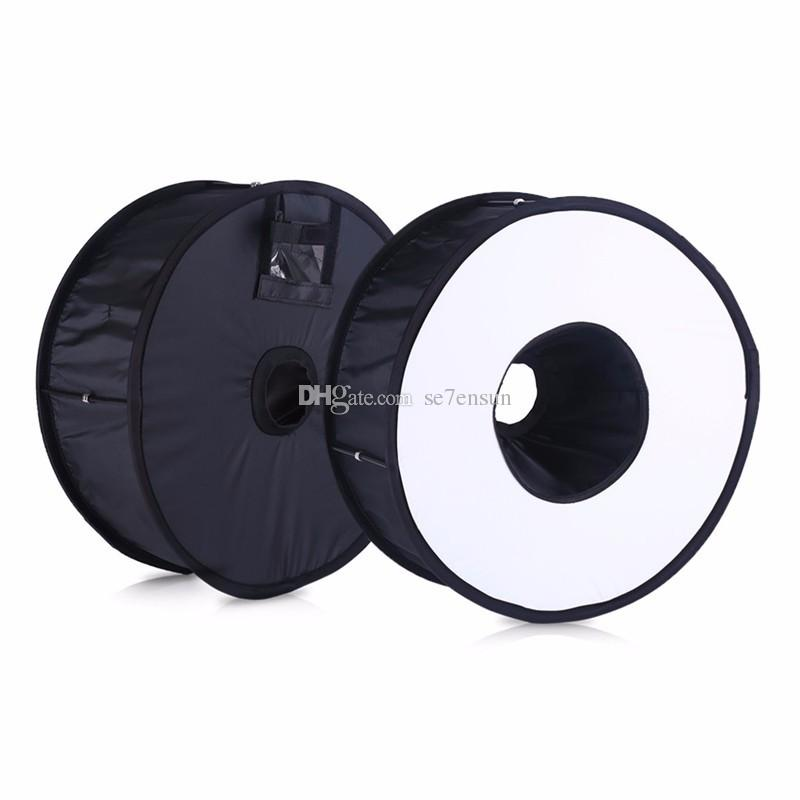 23cm x 23cm, Happyshopping Adjustable Stand Foldable Soft Flash Light Diffuser Softbox Cover Size