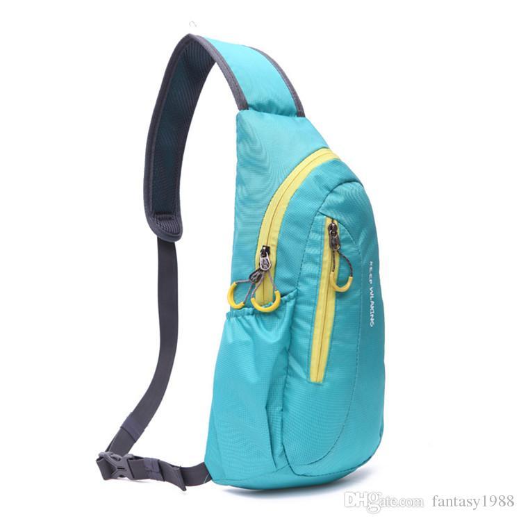Outdoor Gear Escursionismo Campeggio Sport Ciclismo Borse Uomo Donna Trekking Alpinista Casual Viaggio Packsack Multifunzione Single Shoulder Bags