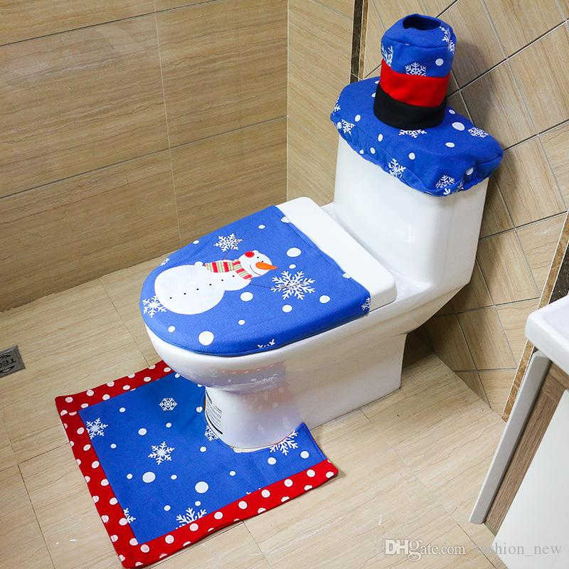 royal blue toilet seat. 2017 Christmas Darkblue Bathroom Toilet Seat Cover Snowflake Dark Blue  Velcromag mrbaumbach co 100 Images Home Living