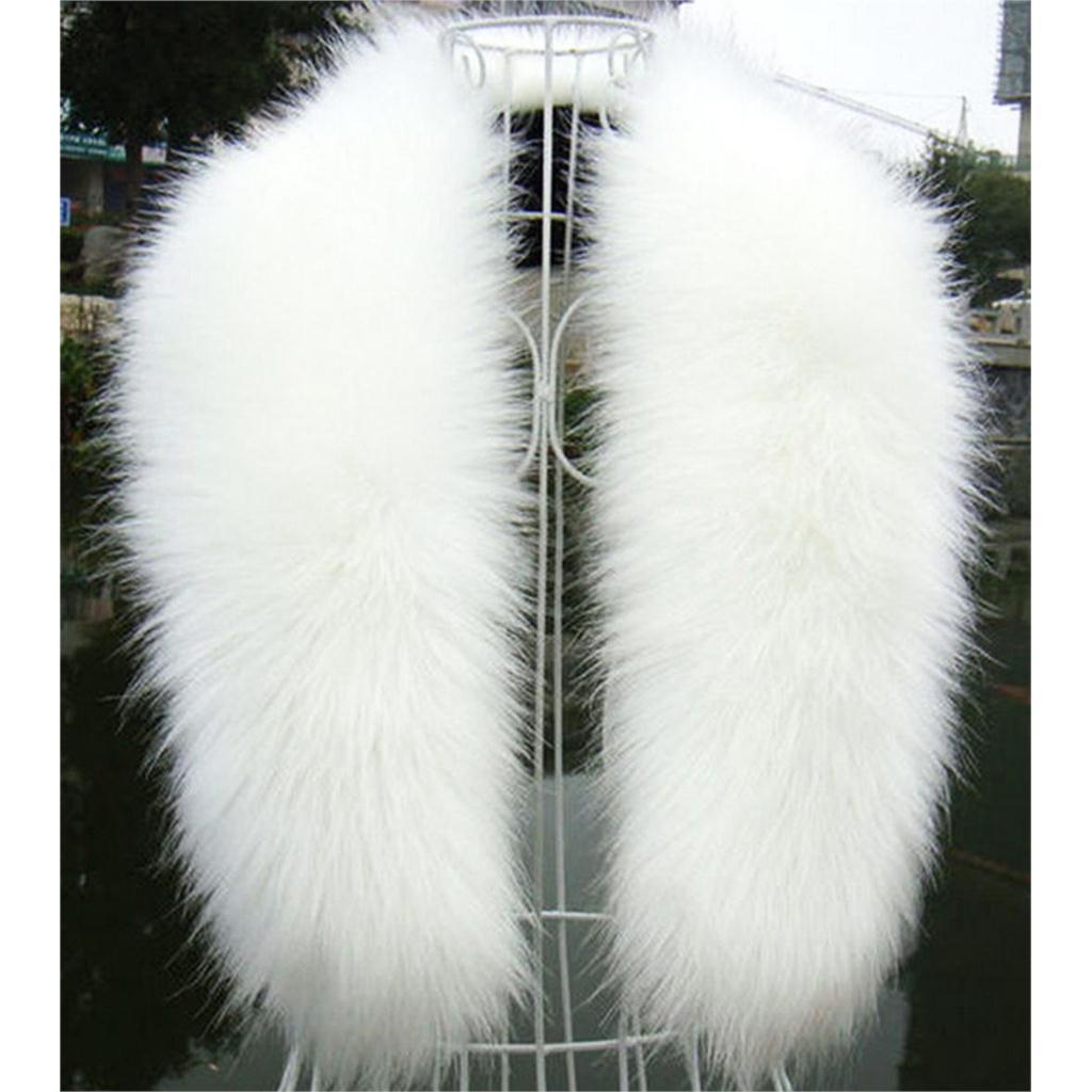 White Fur Stole >> Wholesale New Winter Fashion Luxury Artificial Fox Fur Collar Scarf