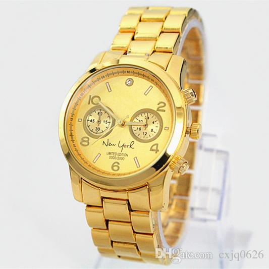 2019 Best Gifts New York limited Watches for lady Luxury Women Nice Dress Casual Watches Stainless steel Bracelet clock fashion design Watch