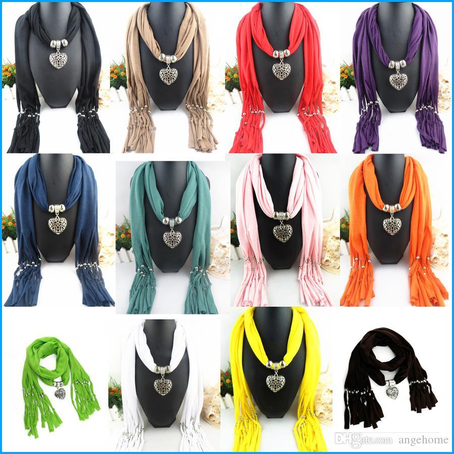 2016 новое прибытие подвески шарф ювелирные изделия кулон шарф ювелирные изделия шарфы ожерелье шарф Бесплатная доставка
