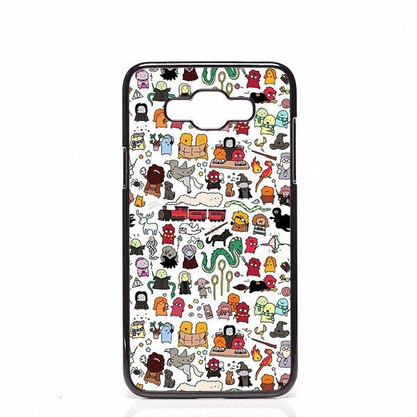 save off bf718 30882 Harry Potter Doodle Phone Covers Shells Hard Plastic Cases For Samsung  Galaxy J2 J3 J5 J7 2015 2016 2017 Customized Phone Cases Cute Phone Cases  From ...