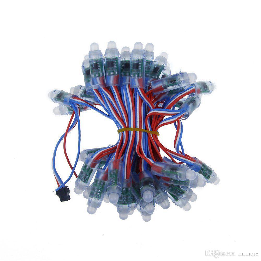 12mm WS2811 Led 픽셀 모듈, IP68 방수 DC5V 풀 컬러 RGB 문자열 크리스마스 LED 조명 빌보드 무료 배송