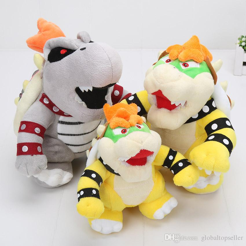 Super Mario Bone Kuba Dragon Kids Soft Stuffed Toy
