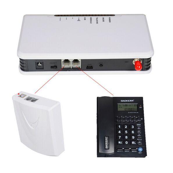 900MHz / 1800MHz festes drahtloses GSM-Terminal verbinden Schreibtischtelefon, um Telefonanruf drahtloses Terminal-Übermittlungs-Warnungssystem zu machen Gebrauch Sim-Karte
