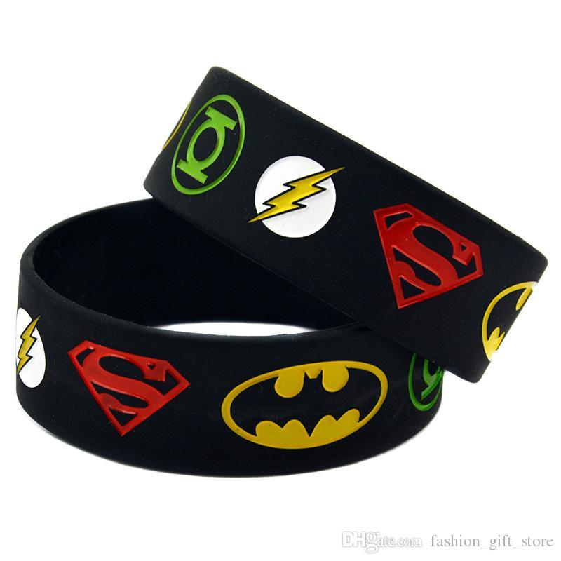 BATMAN BIRTHDAY PARTY FAVOR SUPERHERO HYPO-ALLERGENIC SILICONE SOFT BRACELET