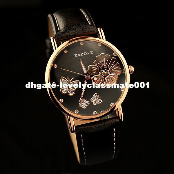 Acheter Filles Montre Yazole Dames Quartz Papillon De À Relogio Bracelet Luxe Célèbre Horloge Marque Femmes Feminino 2017 Femme FKlJc1