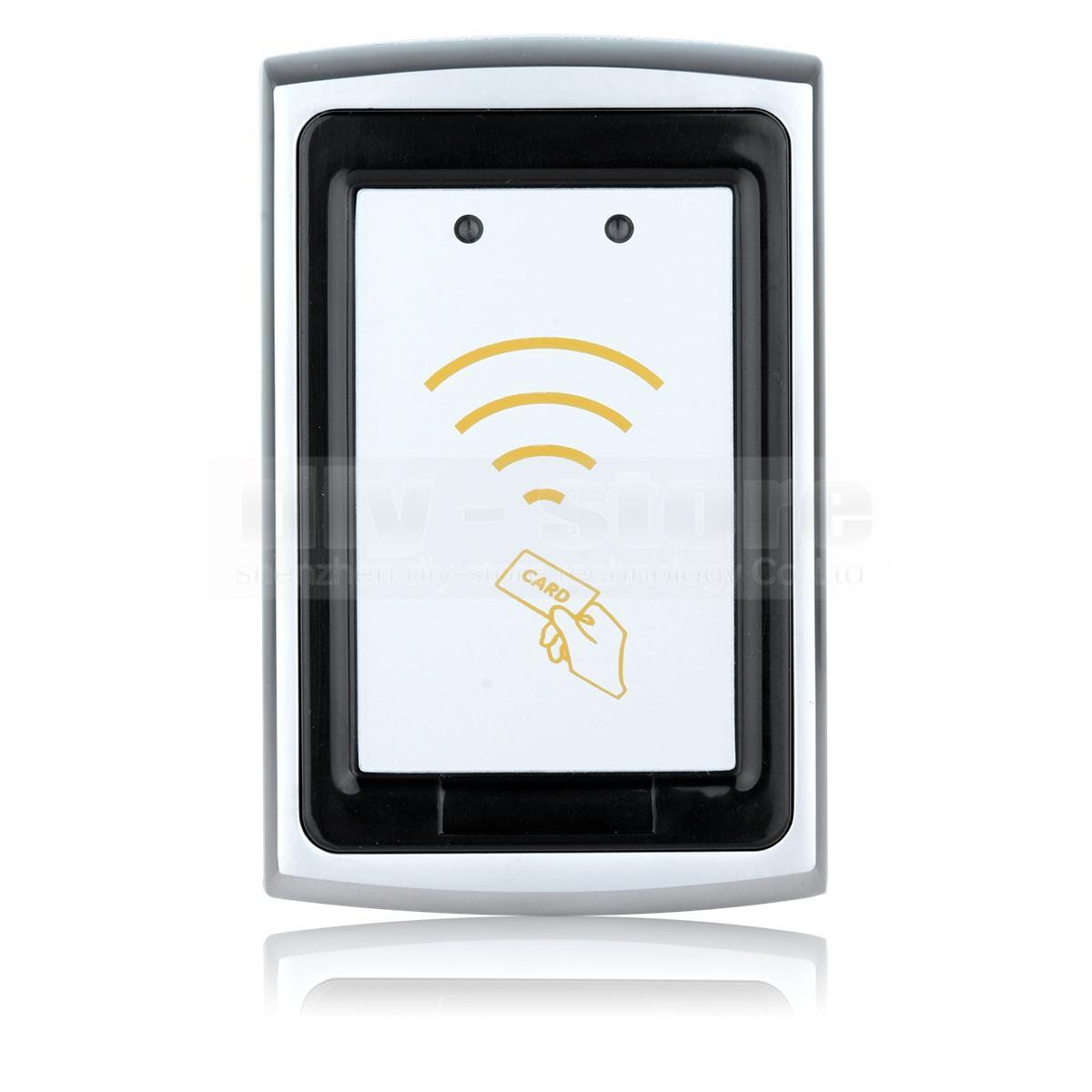 Качество водонепроницаемый металлический Wiegand 26 125 кГц EM 4100 RFID ID Card Reader для системы контроля доступа K76