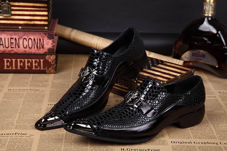 Nuovo arrivo scarpe da uomo fatte a mano scarpe da uomo in pelle per uomo scarpe oxford per uomo Black Business Dress Zapatos Hombre taglia grande 45 46