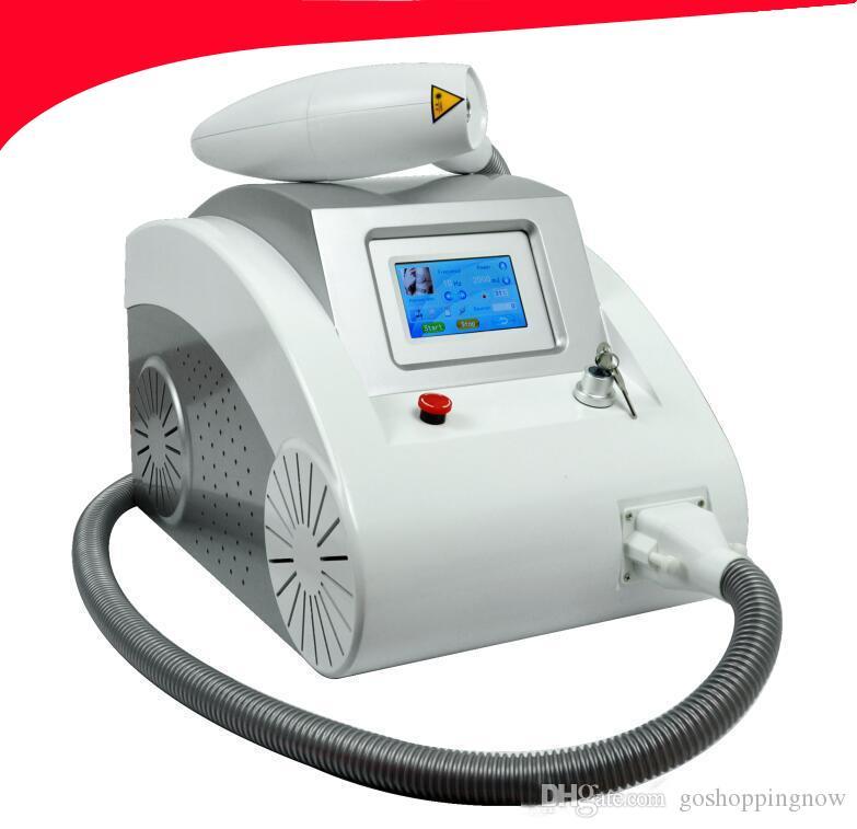 1000w 2000mj Máquina de eliminación de tatuajes con láser Eliminación de pigmentos 1064nm 532nm 1320nm resultado rápido