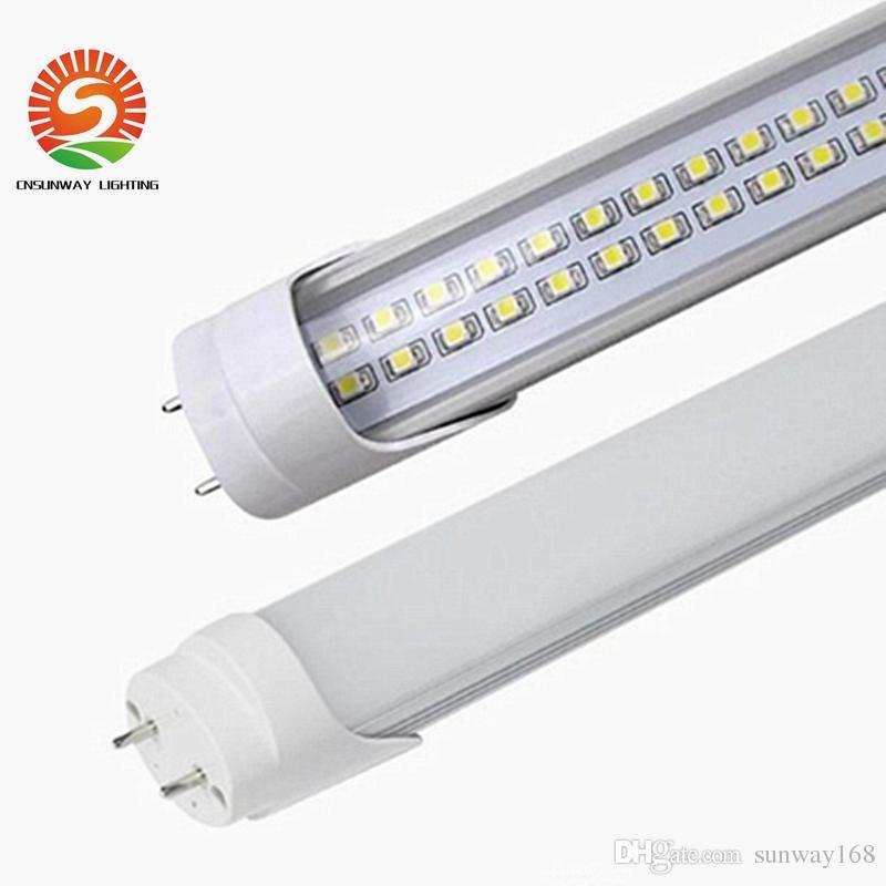 Stock in USA 4ft 1.2m 1200mm G13 T8 Led Tubes lights Super Bright 28W 3000k 6000K Cool White Led Lamp