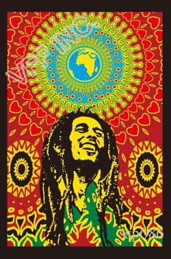 Bob Marley One Love Drapeau Jamaïque Drapeau Rasta 3ft x 5 pi Polyester Flying Banner 150 * 90cm personnalisée en plein air AF54