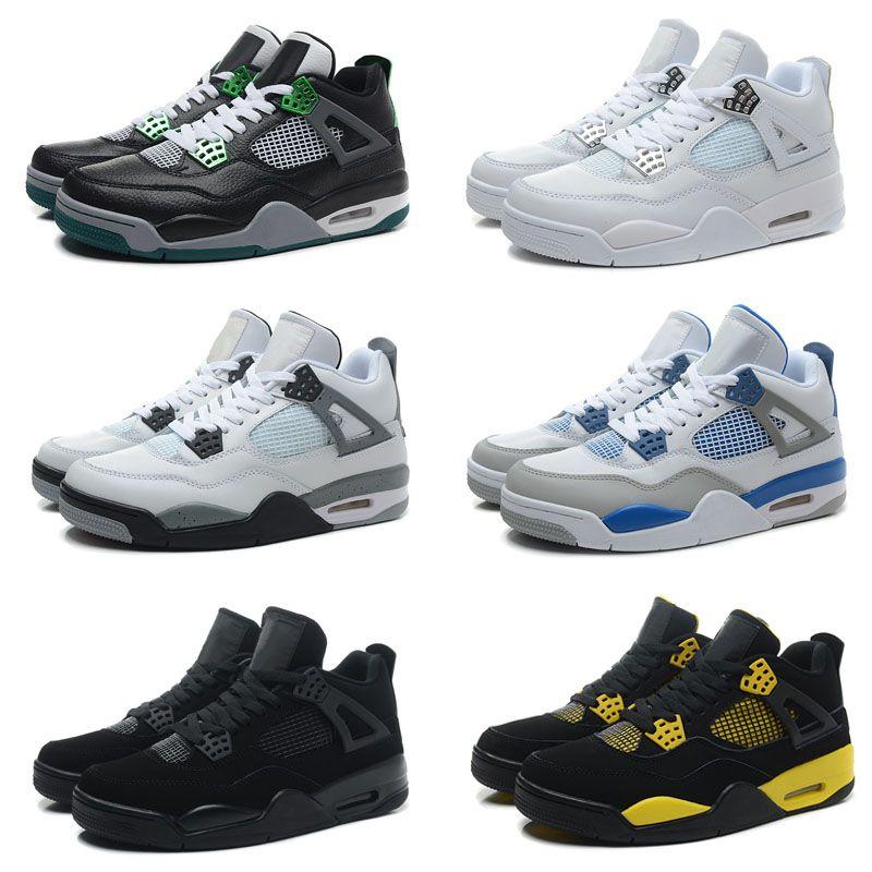 Перевозка груза падения Оптовая Баскетбол обувь для мужчин 4 Dan IV Кроссовки Сапоги Аутентичные Скидка Открытый Горячие Продажа Спортивная обувь