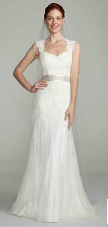 973913ac39 Vestido De Noiva David'S Bridal Gown Lace Wedding Dress 2018 Sexy Backless  Simple Trumpet With Keyhole Back Lace Wedding Dresses Order Wedding Dress  ...