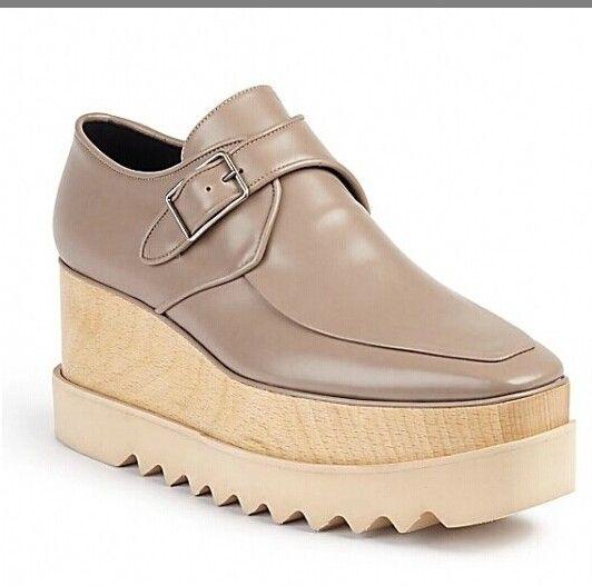 new free shipping Stella Mccartney women Shoes platform Blue Genuine Leather White Sole Stars Shoes