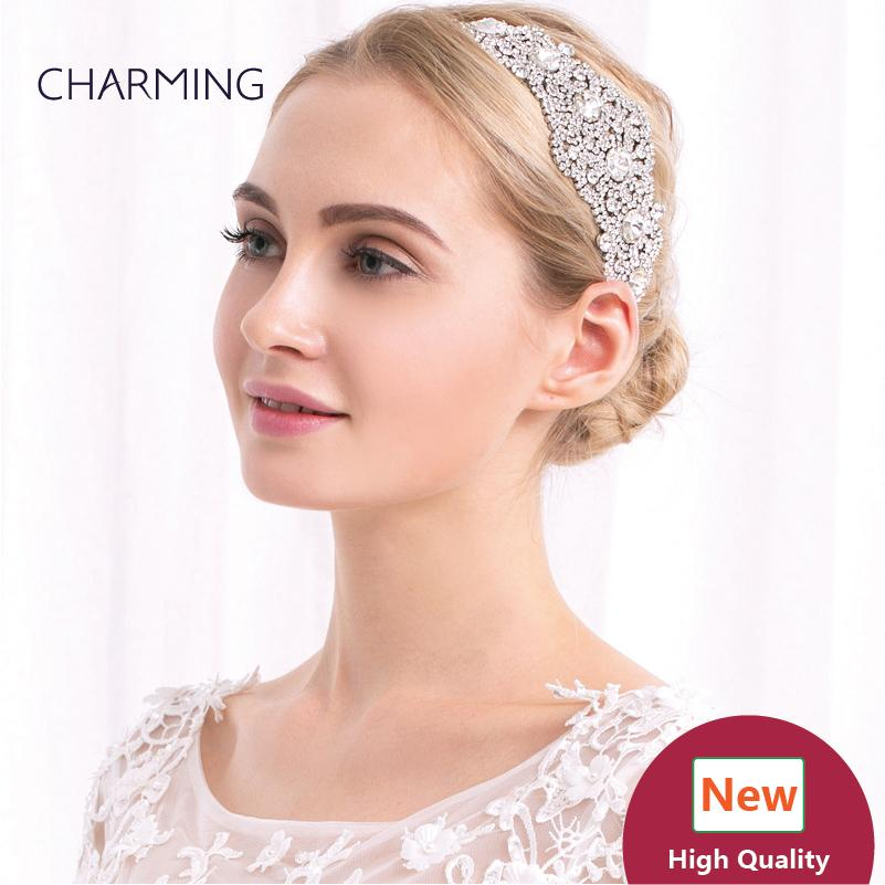 elastic headbands crystal hair clips bridal hair accessories best wholesale products china market online free shipping