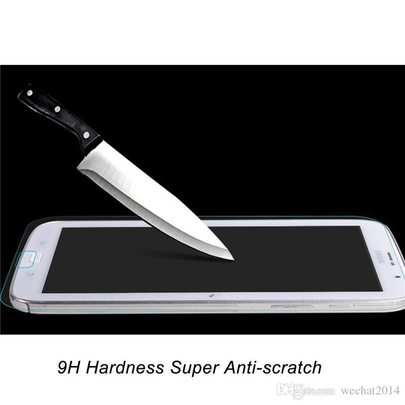 30PCS Explosion Proof 9h 0.3mm Skärmskydd Temperat glas för Samsung Galaxy Not 8.0 N5100 N5110 Inget paket
