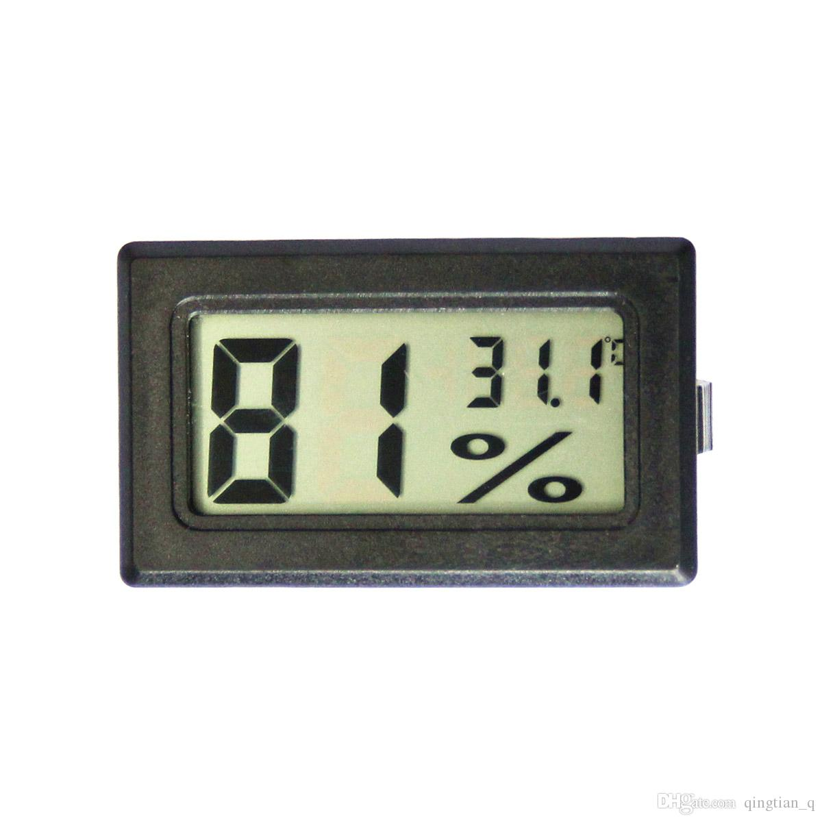 Mini Digital LCD Indoor Temperatur  Humidity Meter Thermometer Hygrometer