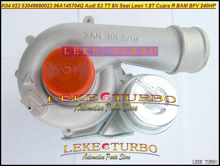 K04 023 5304 970 0023 53049700023 5304-970-0023 06A145704Q QX QV Turbo için Audi S3 TT 8N için Koltuk Leon 1.8T Cupra R BAM BFV 1.8L