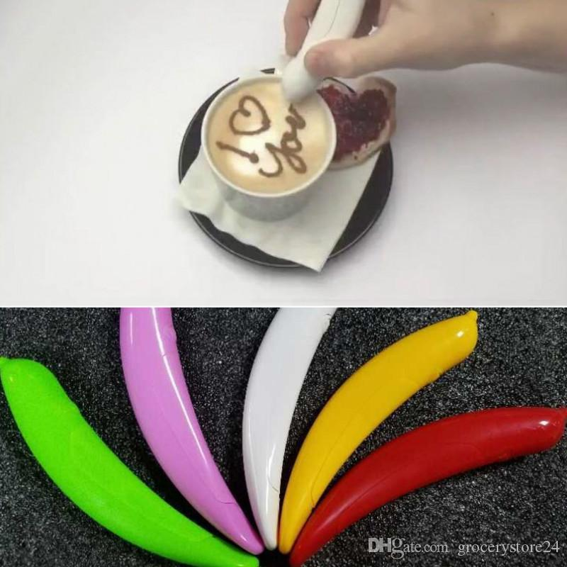 Spice Pen Professional Mini Cake Coffee Easy Various Decorating Amazing New Spice Pen Finally Lets You Draw and Write On Your Food