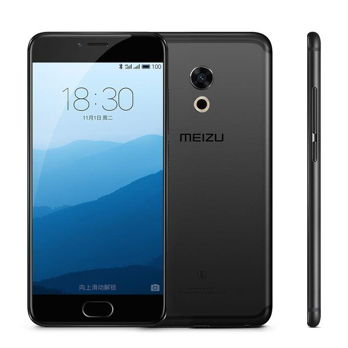 Cellulare originale Meizu Pro 6S 4G LTE Android Helio X25 Deca Core 64GB ROM 4GB RAM 2.5GHz 5.2inch 12.0MP Camera 3D Press Cell Phone