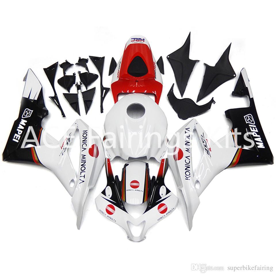 3 regali gratuiti Per Honda CBR600RR F5 07 08 CBR600RR 2007 2008 Iniezione ABS Kit carena moto nero Bianco Rosso A26S