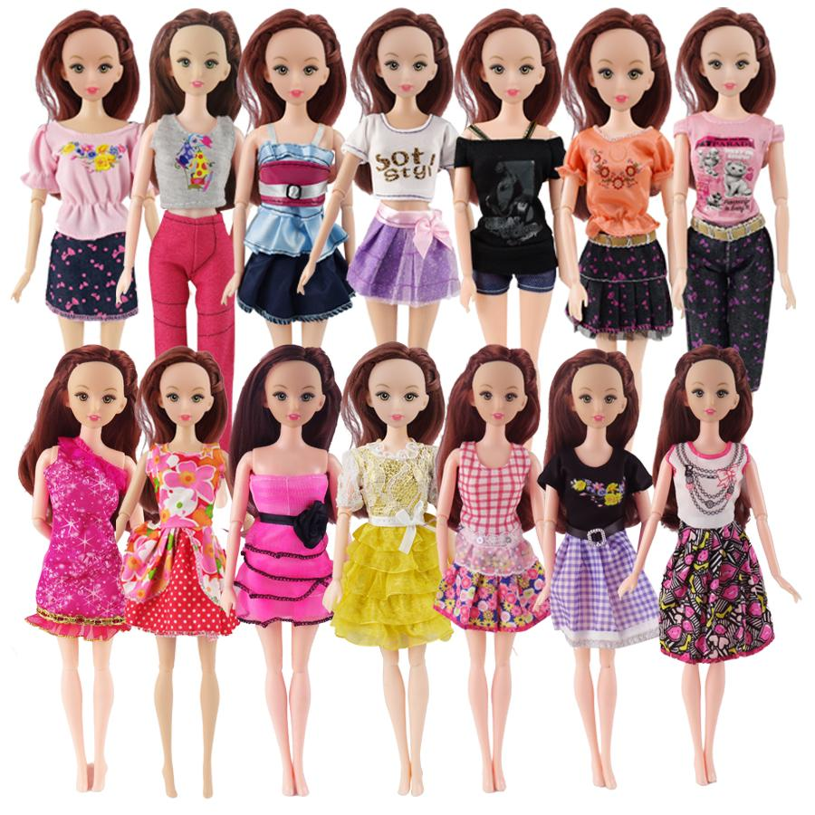 1-Pc Swimsuits for Plus Size Barbie Handmade