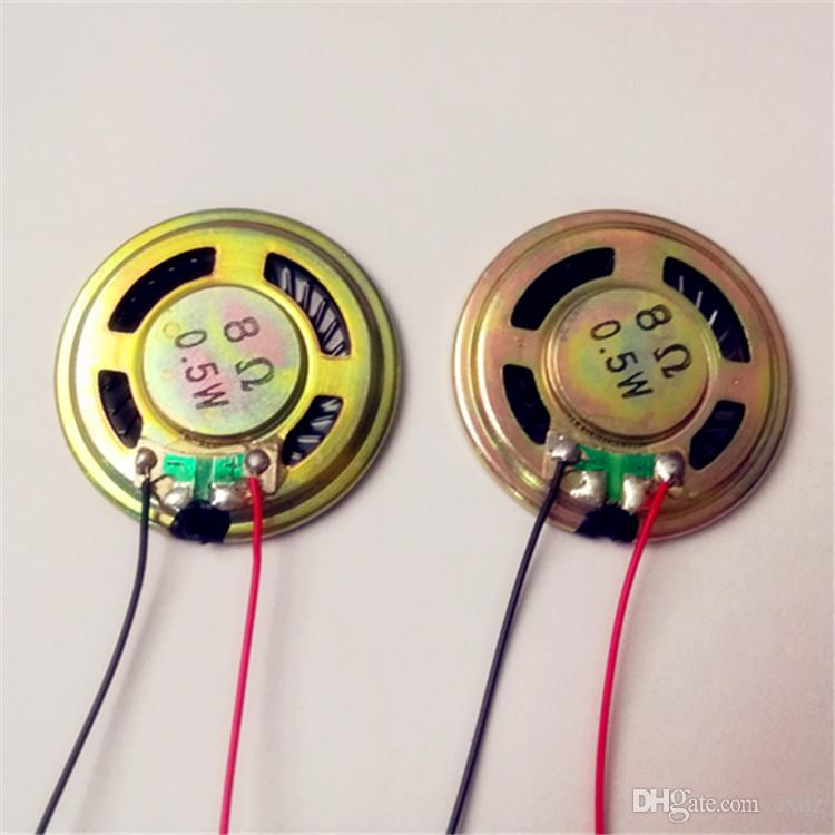 20pcs Home Einrichtung 36mm40mm8R0.5W Schweißlinie mit Linie Eisen Shell ultra-dünnen Lautsprecher