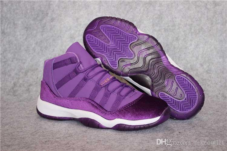Brand 11s XI Purple Velvet Heiress