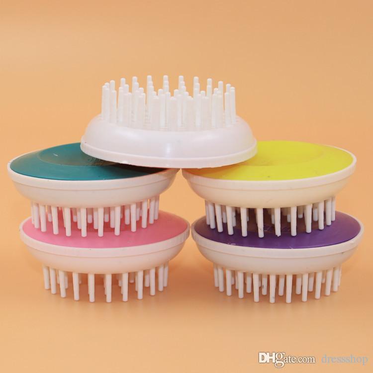 Artifact Shampoo Shampoo Massage Brush Borstel om de Massage Kamgedeelte van de Massage Massage te reinigen