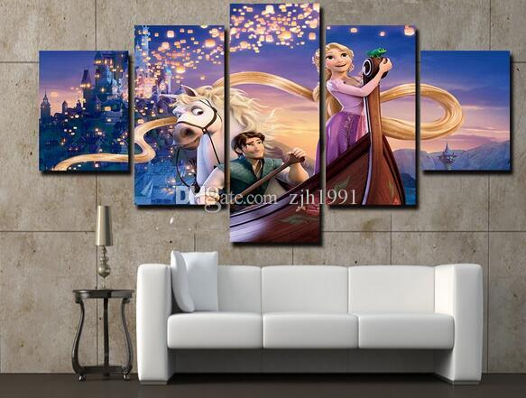 ... Unframed Batman Joker Art Painting On Canvas Living Room Decoration  Pictures Print Poster Picture Canvas Wall ... Part 70