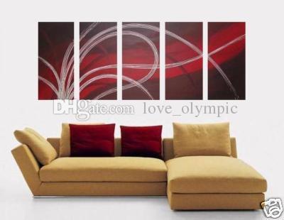 Envío gratuito enmarcado 100% pintado a mano de alta calidad pintura al óleo sobre lienzo decoración de la pared del hogar arte pinturas abstractas modernas tamaños múltiples 504
