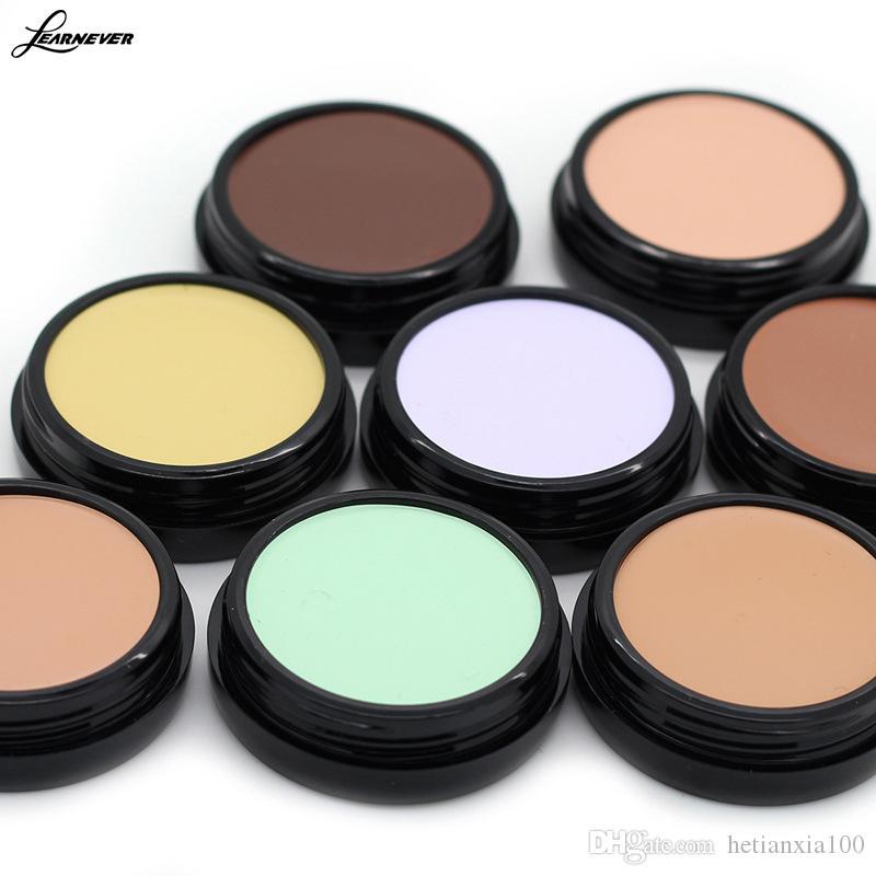 Maquiagem Base Corretivo Creme Foundation 10 Cores Oil-controle Hidratante Cobertura de Poros Camuflagem Paleta De Contorno
