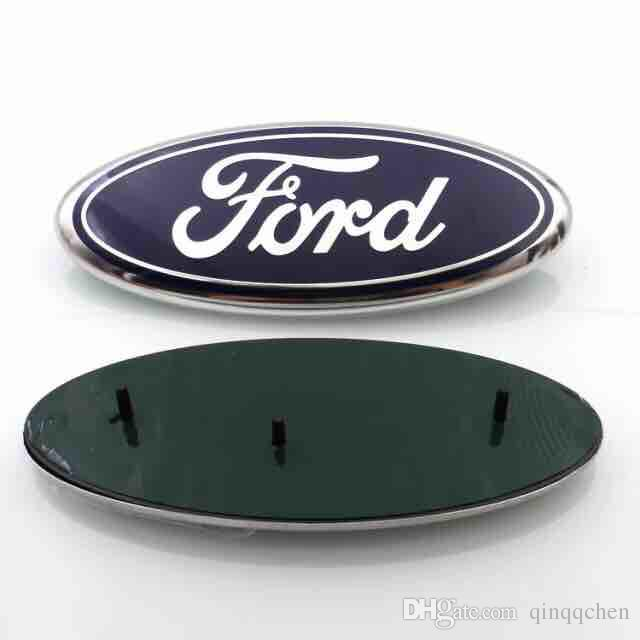 High Quality background 23*9cm Auto Car Emblem Badge ABS+Aluminum Hood Front Rear Trunk Logo for Ford Edge Explorer