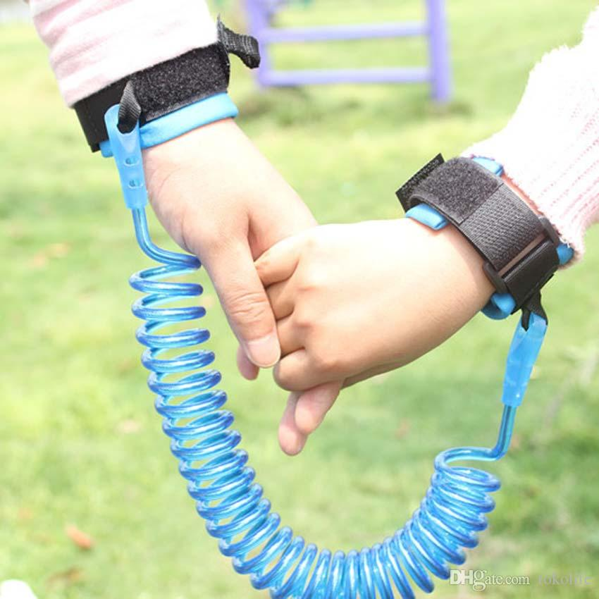 UK Safety Leash Anti Lost Baby Toddler Kids Wrist Link Wristband Ropes