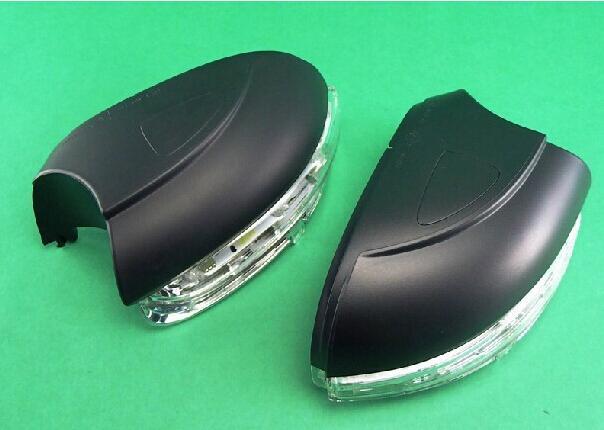 폭스 바겐 2013 Jetta Touran 골프 6 미러 램프 백미러 램프 측면 미러 하우징 한 쌍