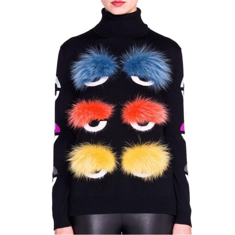 Оптоворовень - Европейский дизайн мода Высокое Качество Осенние взлетно-посадочные полосы женские с длинным рукавом вязаный сексуальный свитер пуловер шерстяной свитер женские