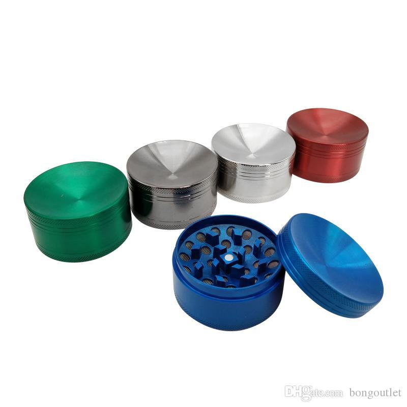 5 farben metall trocken kraut zigarettenschleifer mini rauchen brecher zigarette zubehör shisha pipe hand muller tabak grinder
