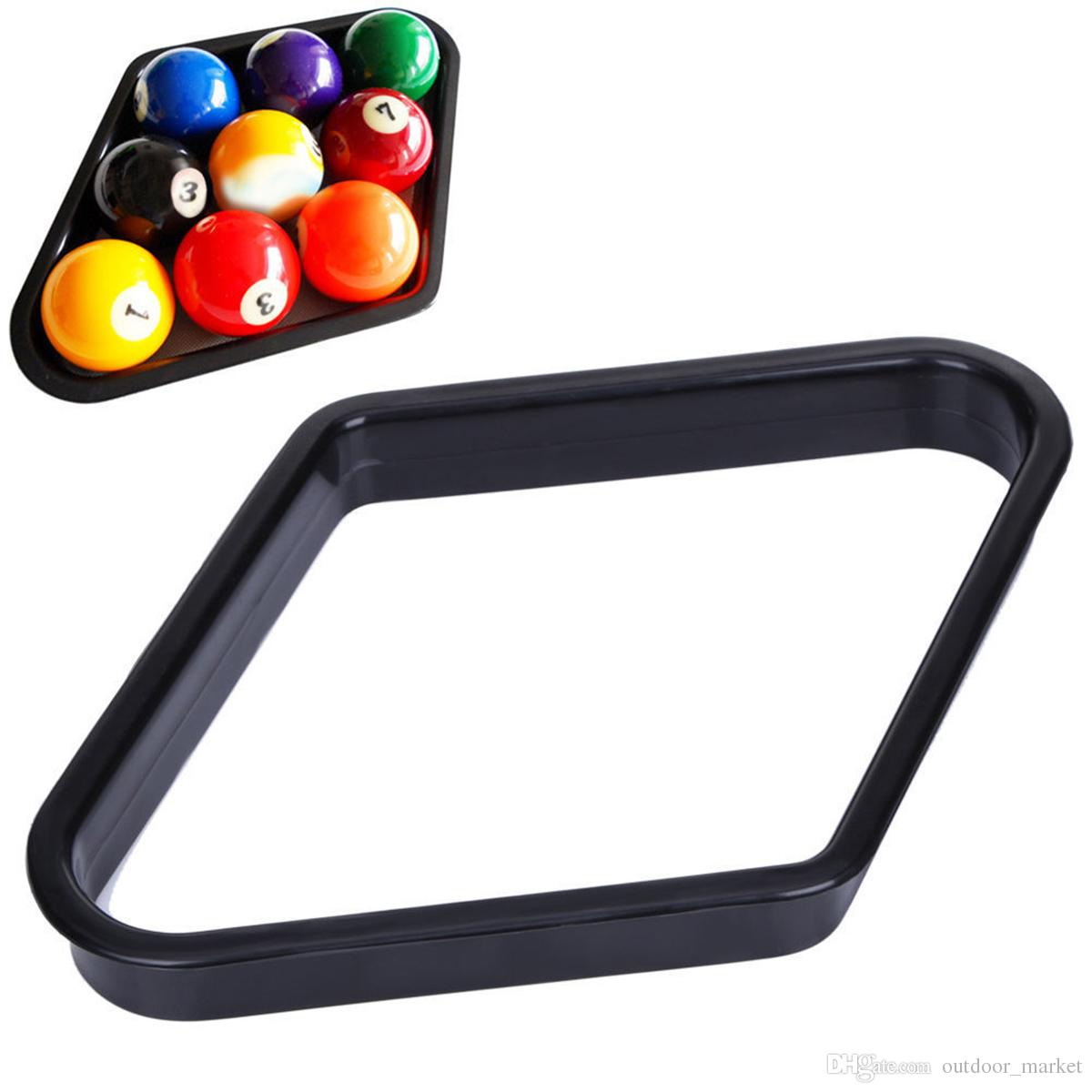 "Plastic 8 Pool Table Ball Rack Billiards Accessory Fits 2-1//4/"" Sized Balls"
