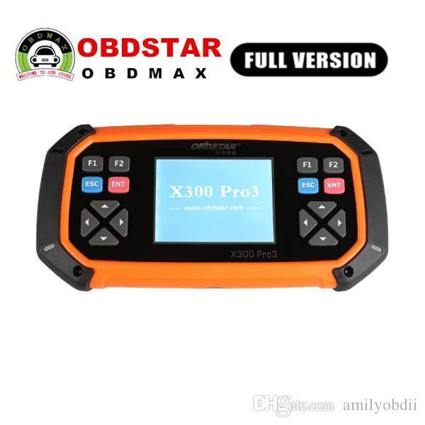 OBDSTAR X300 PRO3 Key Master Antidémarrage complet + Compteur kilométrique + EEPROM / PIC + OBDII + EPB + Réinitialisation huile / service + Batterie