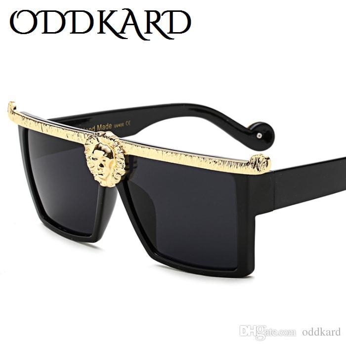 ODDKARD خمر 2019 موضة نظارات للرجال والنساء مصمم كلاسيكي ساحة نظارات الشمس oculos دي سول uv400
